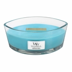 CLOSEOUT-Tropical Oasis WoodWick Candle 16 oz. HearthWick Flame | Discontinued & Seasonal WoodWick Items!