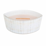 CLOSEOUT-Vanilla & Sea Salt Decal Ellipse WoodWick Candle with HearthWick Flame | Discontinued & Seasonal WoodWick Items!
