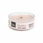 Vanilla & Sea Salt Petite WoodWick Candle | WoodWick Petite Candles