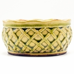 CLOSEOUT - Warm Cinnamon Buns French Farmhouse Bowl Swan Creek Candle (Color: Sage) | Swan Creek Candles Closeouts