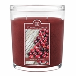 CLOSEOUT - White Oak & Berry 22 oz. Oval Jar Colonial Candle | Colonial Candle Closeouts