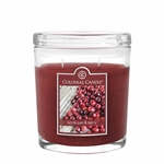 CLOSEOUT - White Oak & Berry 8 oz. Oval Jar Colonial Candle | Colonial Candle Closeouts