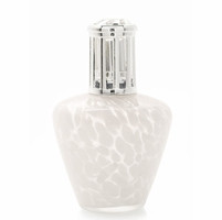 CLOSEOUT - White Satin Fragrance Lamp by La Tee Da