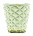CLOSEOUT - Wild Blueberry & Lavender English Garden Hobnail Pot Swan Creek Candle (Color: Sky) | Swan Creek Candles Closeouts