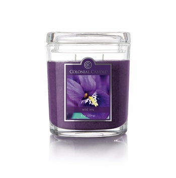 Wild Iris 8 oz. Oval Jar Colonial Candle