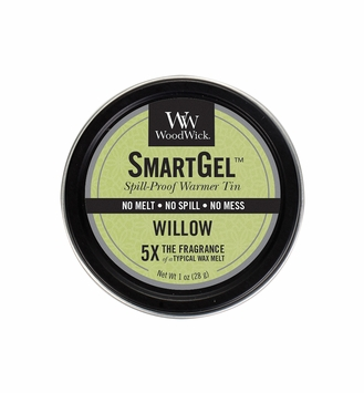 CLOSEOUT - Willow Smart Gel Spill-Proof Warmer Tin by WoodWick Candle