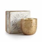 NEW! - Winter White Luxe Sanded Mercury Glass Illume Candle | Holiday Collection by Illume Candles