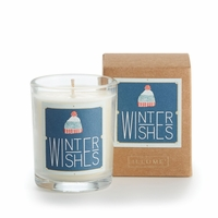 CLOSEOUT - Winter Wishes Glad Tidings Votive by Illume Candle