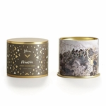 NEW! - Woodfire Large Tin Illume Candle | Holiday Collection by Illume Candles