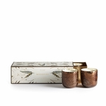NEW! - Woodfire Mini Luxe 3-Pack Illume Candle | Holiday Collection by Illume Candles