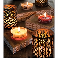 WoodWick Petite Candle Holders