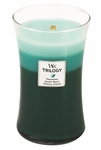 CLOSEOUT-Ocean Escape WoodWick Trilogy Candle 22oz | Discontinued & Seasonal WoodWick Items!