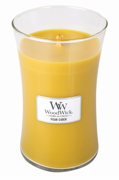 _DISCONTINUED_Pear Cider WoodWick Candle 22 oz.