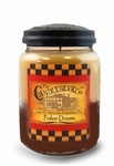 Praline Dreams 26 oz. Large Jar Candleberry Candle | Large Jar Candles by Candleberry
