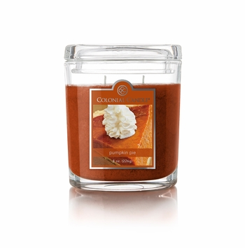 Pumpkin Pie 8 oz. Oval Jar Colonial Candle