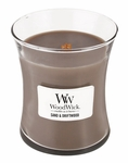 Sand & Driftwood WoodWick Candle 10 oz. | WoodWick Candles 10 oz. Medium Jars