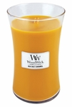 Sea Salt Caramel WoodWick Candle 22 oz. | Woodwick Candles 22 oz. Large Jars