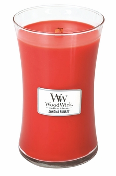 _DISCONTINUED_Sonoma Sunset WoodWick Candle 22oz.
