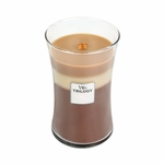CLOSEOUT-Spiced Confections WoodWick Trilogy Candle 22 oz. | Discontinued & Seasonal WoodWick Items!