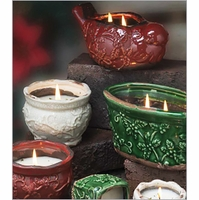 Swan Creek Candle Holiday Pottery Candles