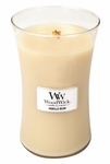 Vanilla Bean WoodWick Candle 22 oz. | Woodwick Candles 22 oz. Large Jars