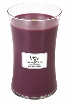 _DISCONTINUED_Vineyard Nights WoodWick Candle 22oz.