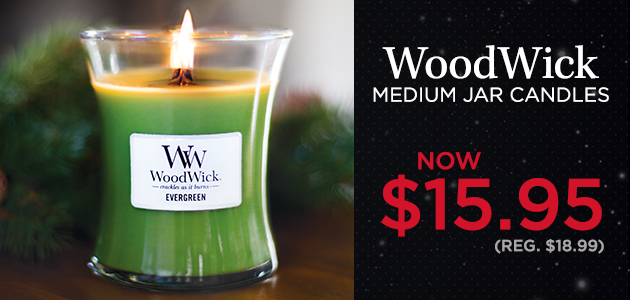 WoodWick Candles 10 oz. Medium Jars