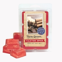 CLOSEOUT - Yuletide Spice Farm Grown Wax Melt