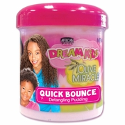 African Pride Dream Kids Olive Miracle Quick Bounce Detangling Pudding 15oz