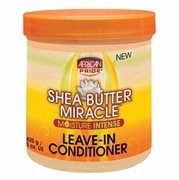 African Pride Shea Butter Miracle Leave-in Conditioner 15oz