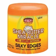 African Pride Shea Butter Miracle Silky Edges 6oz