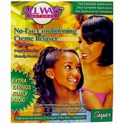 All Ways Natural No-Lye Conditioning Creme Relaxer  Family Pack - Super