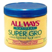 All Ways Natural Super Gro Conditioning Hair Dress 5.5oz