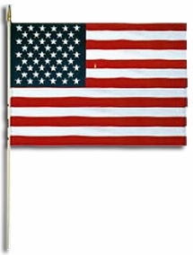 American Stick Flags for Parades & Memorials 12