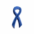 Blue Ribbon Embroidered Stick-ons - 25-pack
