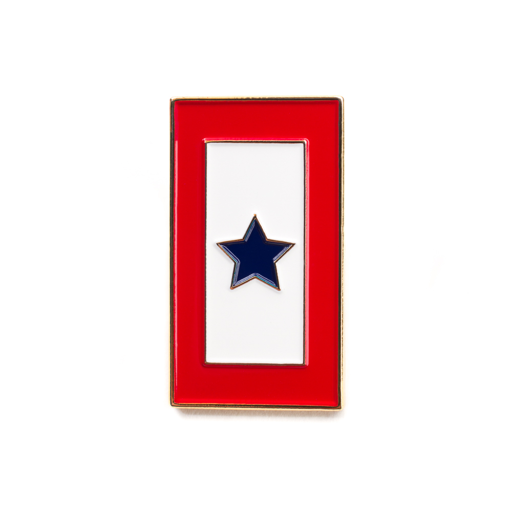 Blue Star Service Lapel Pin   Military Service Banner Pin   Military Lapel  Pins   Blue Stars Flag