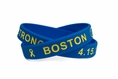 Boston Strong Marathon Memorial Wristband - Adult 8""