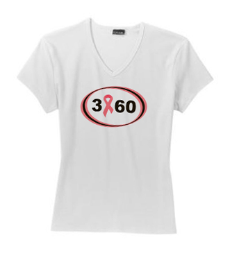 Breast Cancer 3-Day Fitted T-shirt – Small
