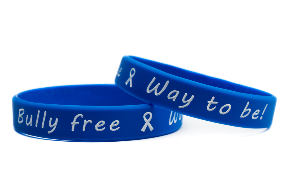 band bands broadbandphoto bracelet product make wristbands wide description to raise bullying awareness against