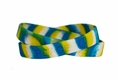 """Peace"" Wristband - Tie-Dye - Rubber"