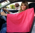 Sun Cloths UV Protection for Car - Pink