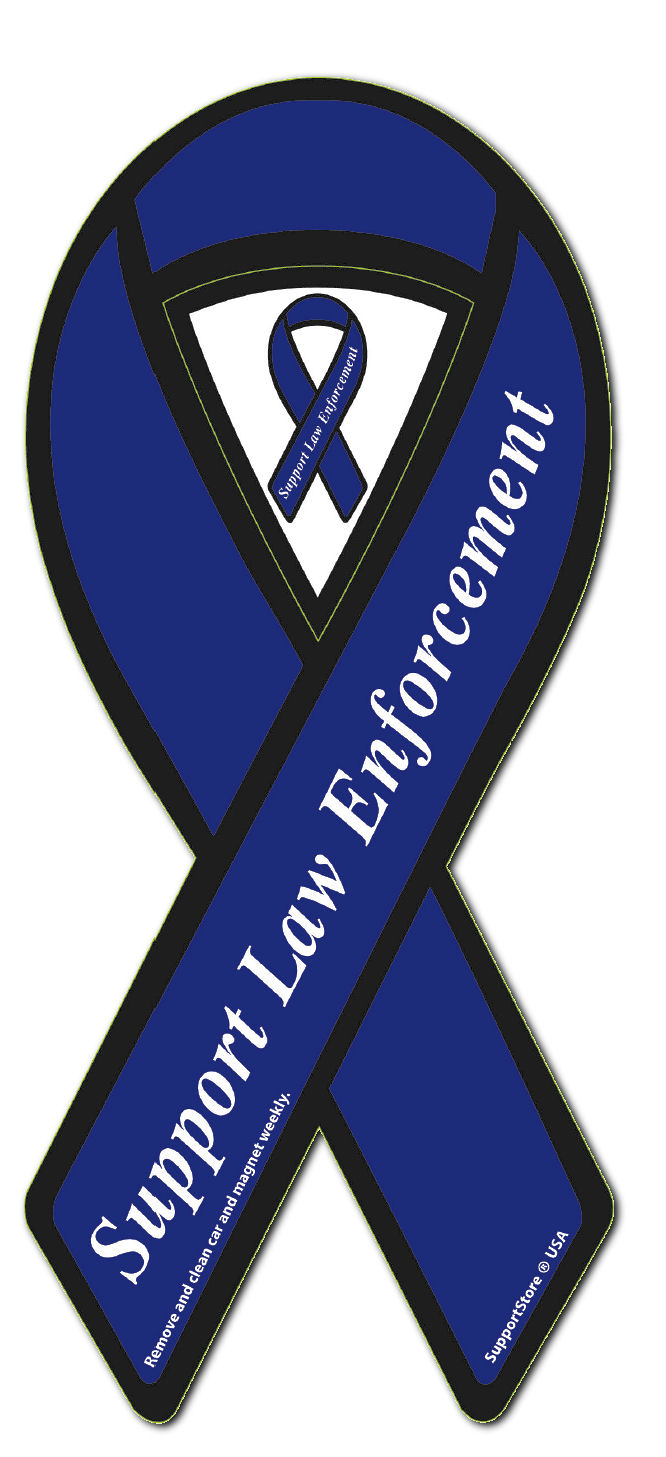 Law enforcement support support police ribbon support law law enforcement support support police ribbon support law enforcement magnet support police bumper sticker magnet biocorpaavc