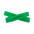 Traumatic Brain Injury Survivor green wristband - Adult 8""