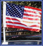 USA American Car Flag - Made in USA - 11