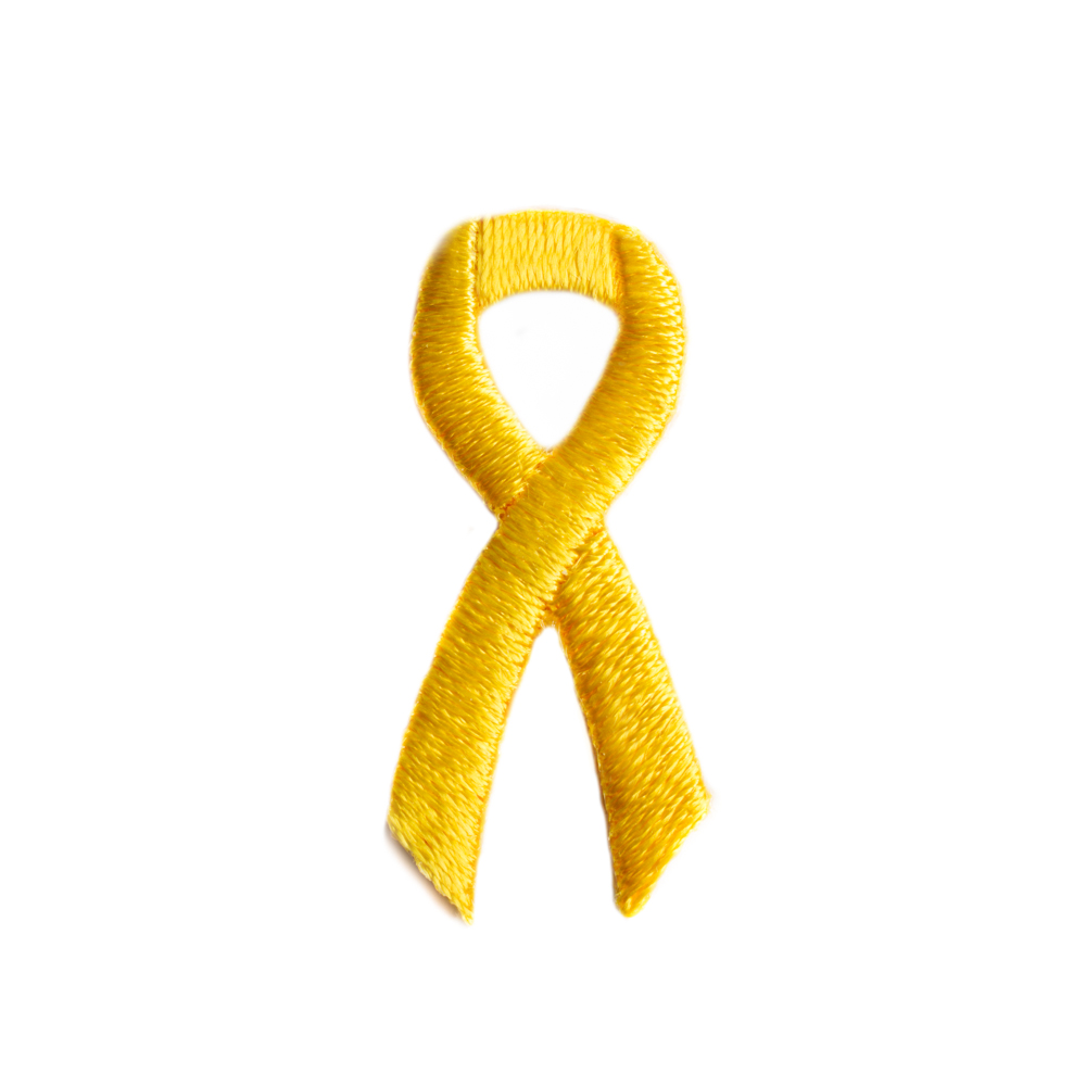 Yellow Awareness Ribbon Stickers Awareness Stick Ons Cancer