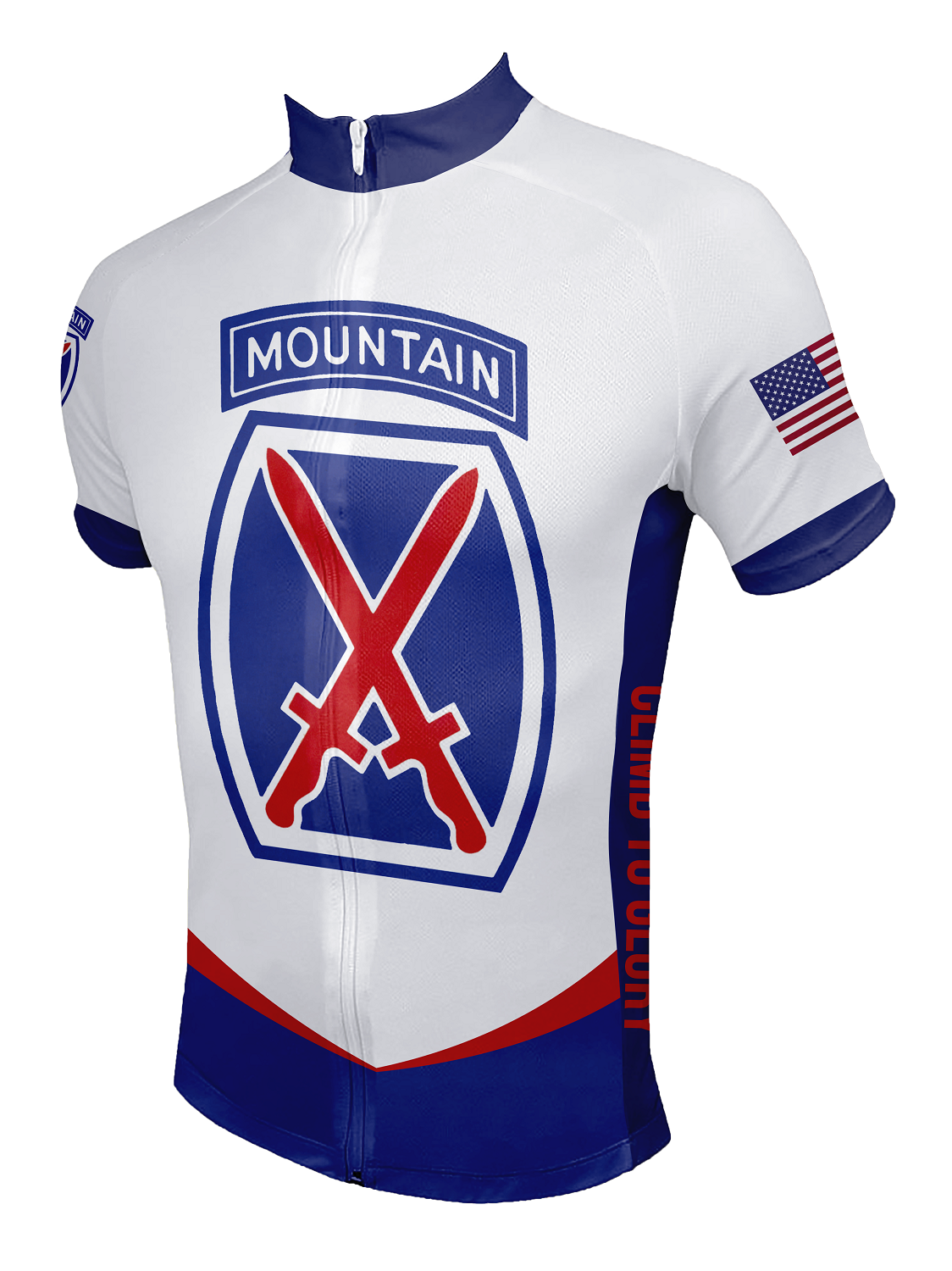 10th Mountain Division Cycling Jersey 4dc6b2790
