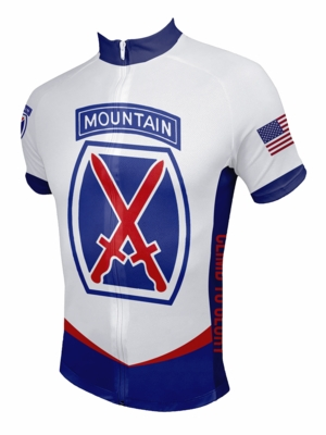 10th Mountain Division Cycling Jersey . ef7fef0df