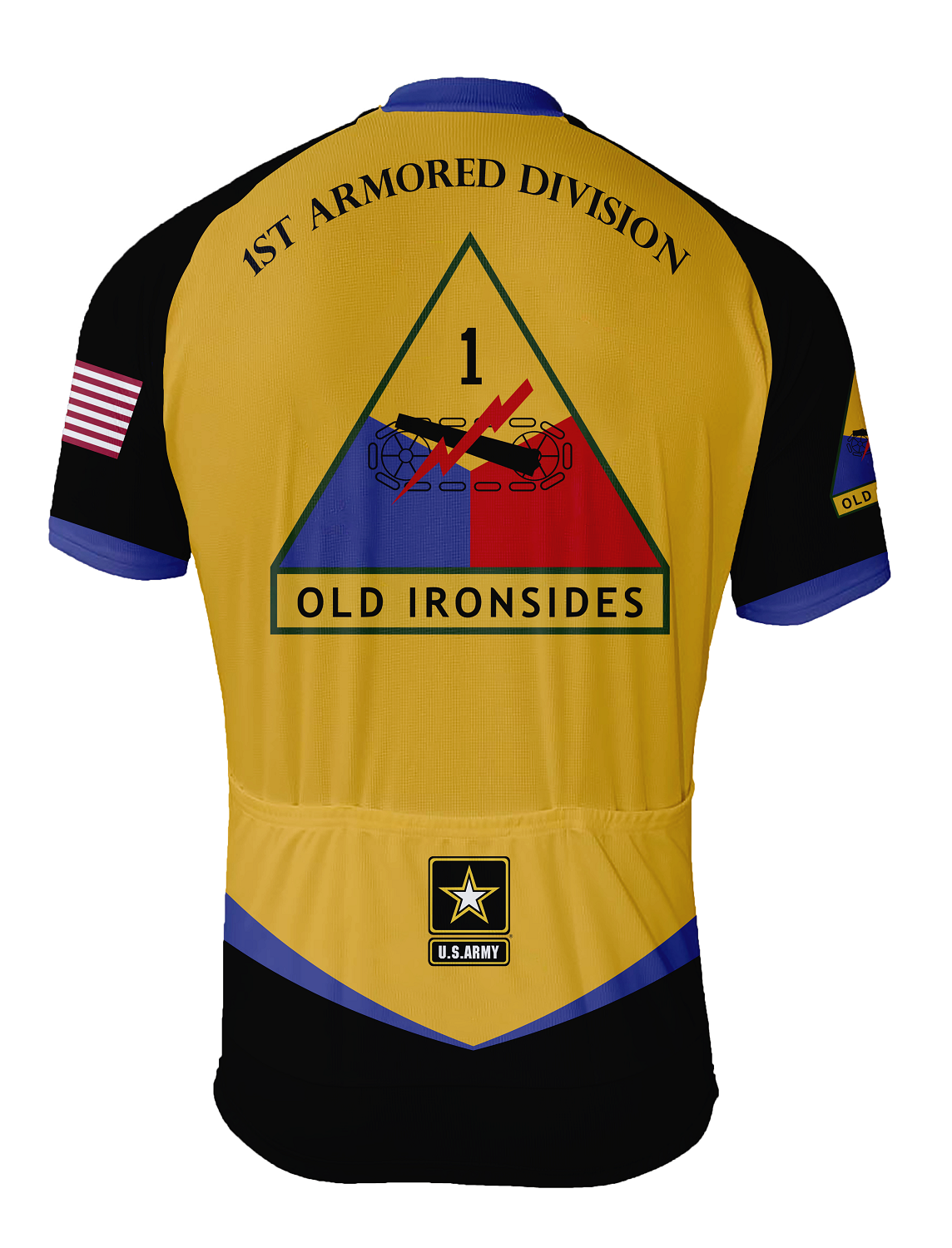 952ffb05b 1st Armored Division Cycling Jersey