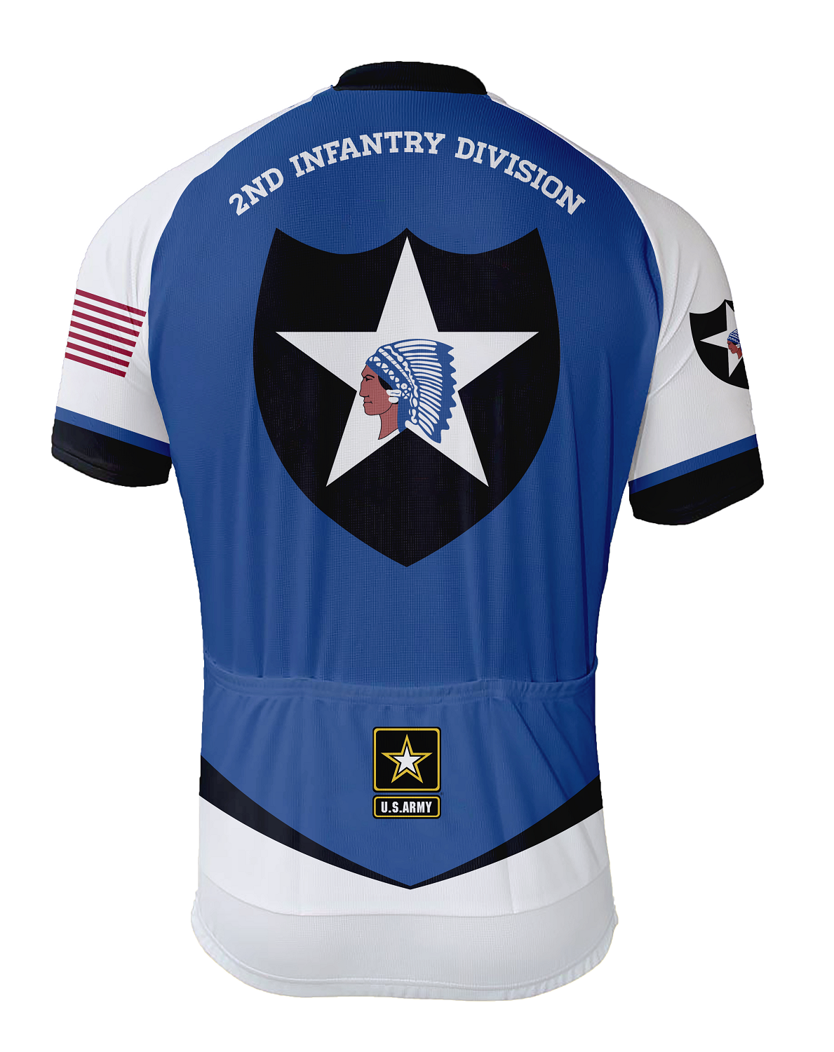 1a8cbd32c 2nd Infantry Division Cycling Jersey