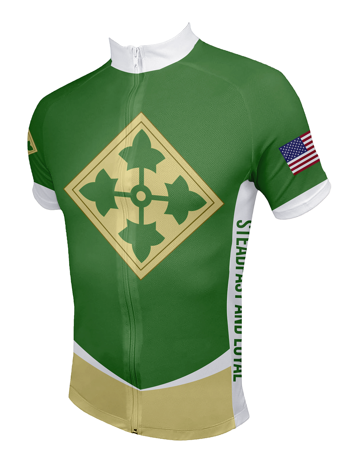 9d32cf0c6 4th Infantry Division Cycling Jersey